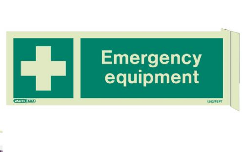 Jalite Emergency Equipment Sign (4362)